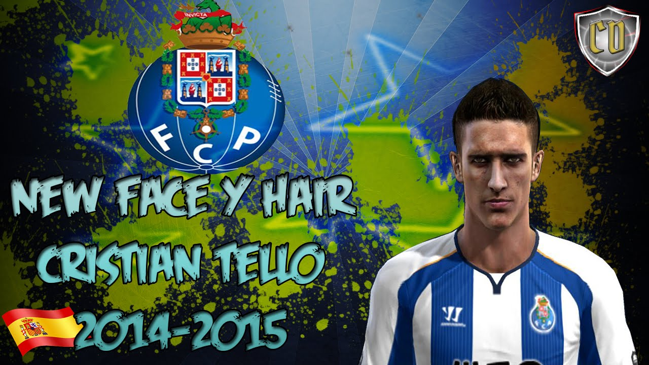 NEW FACE HAIR TELLO 14 15 PES 2013 DOWNLOAD