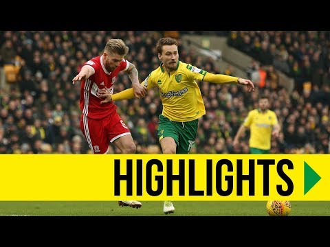 HIGHLIGHTS: Norwich City 1-0 Middlesbrough