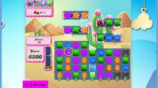 Candy Crush Saga Level 1642 30 moves NO BOOSTERS Cookie