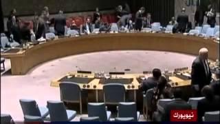 مجلس الامن يدعو الحوثيين لازالة مخيماتهم من صنعاء 29-08-2014