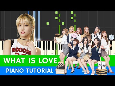TWICE - What is Love? - PIANO (BEST VERSION) with SHEETS
