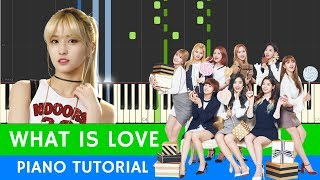 Download Lagu TWICE - What is Love? - PIANO (BEST VERSION) with SHEETS Mp3