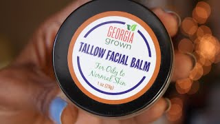 Beef Tallow on my Face??? (Review of Buffalo Gal Grassfed Beauty Tallow Balm)