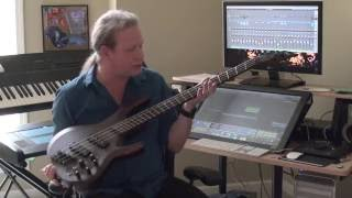 sean mckee plays the esp ltd b 1004se multi scale fanned fret special edition bass review