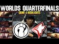 IG Vs GRF Game 4 Highlights Worlds 2019 QUARTERFINALS - Invictus Gaming Vs Griffin Game 4 Highlights