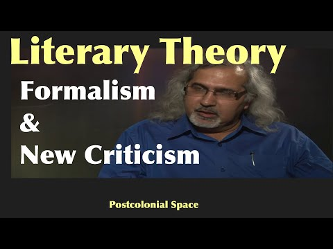 literary-theory:-formalism-and-new-criticism
