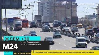 Жара в европейской части России ожидается во второй половине июня - Москва 24