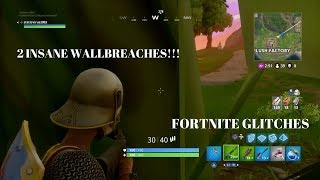 2 'INSANE' WALL BREACHES GODMODE GLITCH SPOT! FORTNITE GLITCHES: OBTENIR LE BUTIN FACILEMENT