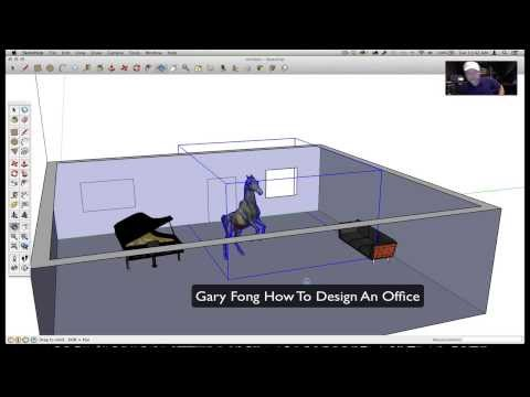How To Design Your Office On Google Sketchup