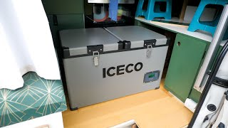 VAN LIFE FRIDGE | Iceco 12 Volt VL60 Dual Zone Refrigerator / Freezer
