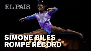 Simone Biles acumula 25 medallas