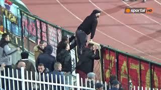Напрежение при феновете на Черна гора
