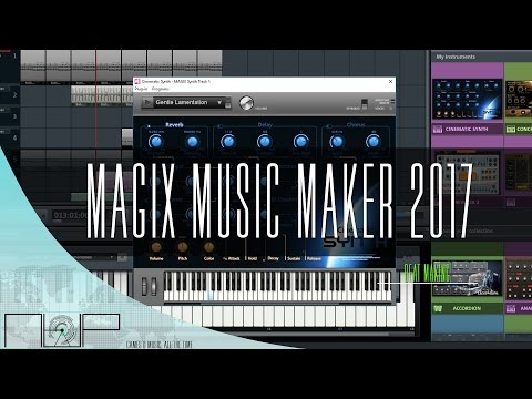 Magix Music Maker 2017 Free Edition  Making A Beat