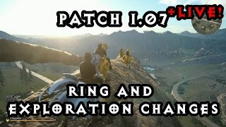Patch 1.07! One hit Adamantoise kill?! (NOT) Testing Ring & Exploration changes!