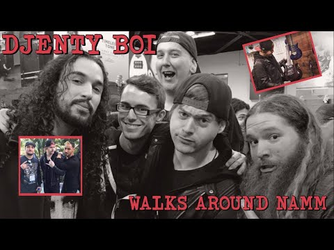 one djenty boi walks around namm (ft. Leo, Scallon, Chapman, etc..)