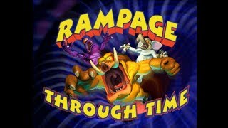 James & Friends Look-At: Rampage Through Time (PS1)