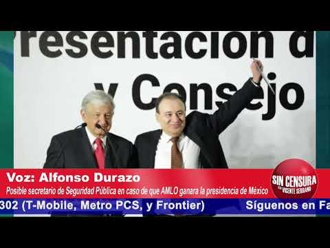 """No amnistía para grandes corruptos ni para """"El Mayo"""" o """"El Mencho"""": Alfonso Durazo en Exclusiva"""