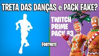 FORTNITE-POLEMIC OF DANCES and TWITCH PRIME PACK 3?