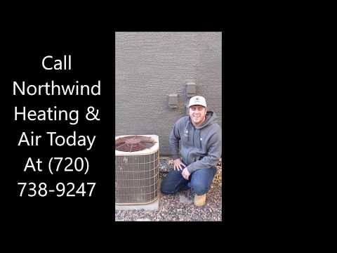 Heating And Cooling Technician For Aurora, Centennial and Lakewood CO Gives Tips For Your Condenser - Видео онлайн