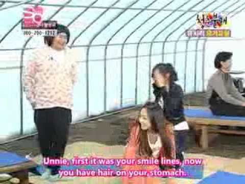 [Invincible Youth] SNSD Yuri's stomach hair