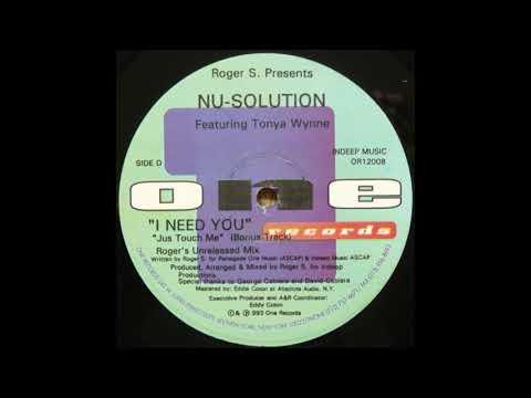 Roger S. Presents Nu-Solution - JusTouch Me (BonusTrack)