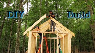 How To BUILD A Shed From Start To Finish- Part 2