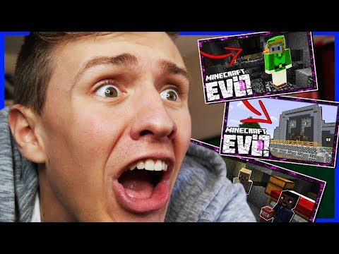 REACTING TO MINECRAFT EVOLUTION SMP!?