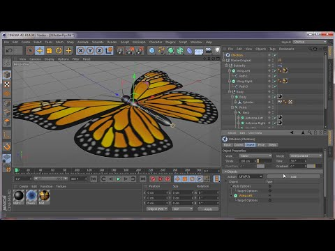Cinema 4D Tutorial on CMotion, Cineware, After Effects, Particular by Joe Herman