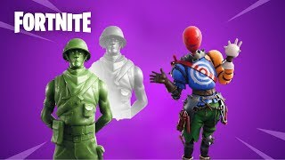 NEW FORTNITE LEAKED SKINS AND NEW LEAKED EMOTES IN GAME SHOWCASE SIGNATURE SHUFFLE HOWARD THE ALIEN