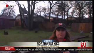 BREAKING WEATHER: NEWS 9, OAKLAHOMA CITY, OK LIVE TORNADO COVERAGE