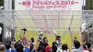 17代目ミニスカポリス 2016.8.28 新宿アイドルフェス2016 新宿ステーシ...