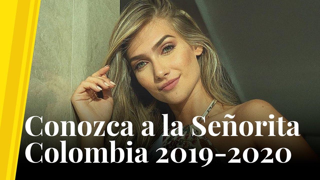 Conozca A La Señorita Colombia 2019 2020