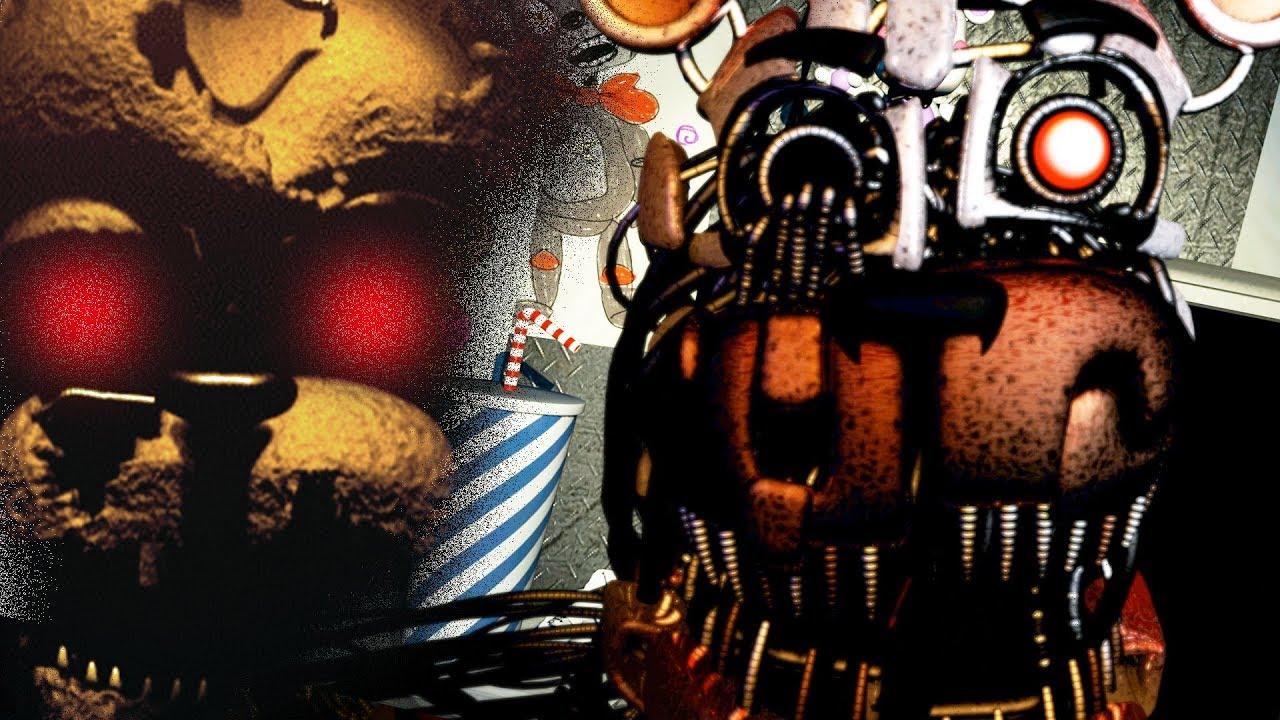 Five Nights At Freddy's 6 - DID I JUST SALVAGE HIM!?!? - Freddy Fazbear's  Pizzeria Simulator FNAF 6