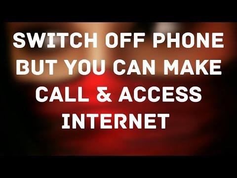 Switch Off Phone But You Can Make Call & Access Internet/बंद phone से call & internet करे