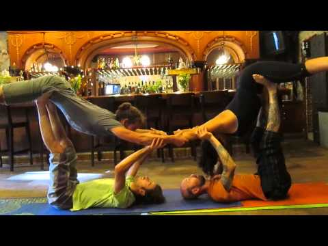 Acro Yoga Play Wednesdays @ The Stonehouse .6/27/13, Join us every Wednesday 5-7pm