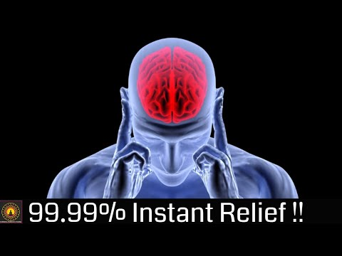 Instant Migraine Headache Relief Pure Binaural Beats | Stress Relief | VASTU Binaural Beats #11