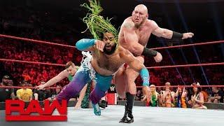 Lars Sullivan obliterates No Way Jose: Raw, May 6, 2019