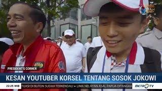 Kesan Youtuber Korsel Tentang Sosok Jokowi