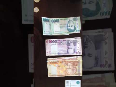 Money of Yerevan,Armenia