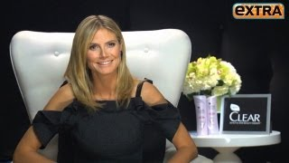 Heidi Klum on Broken Toes and How to Wear Skintight Dresses