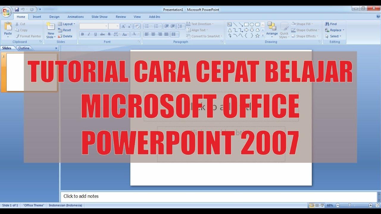 Cara merubah ms. Office 2007 menjadi bahasa indonesia   newsflash.