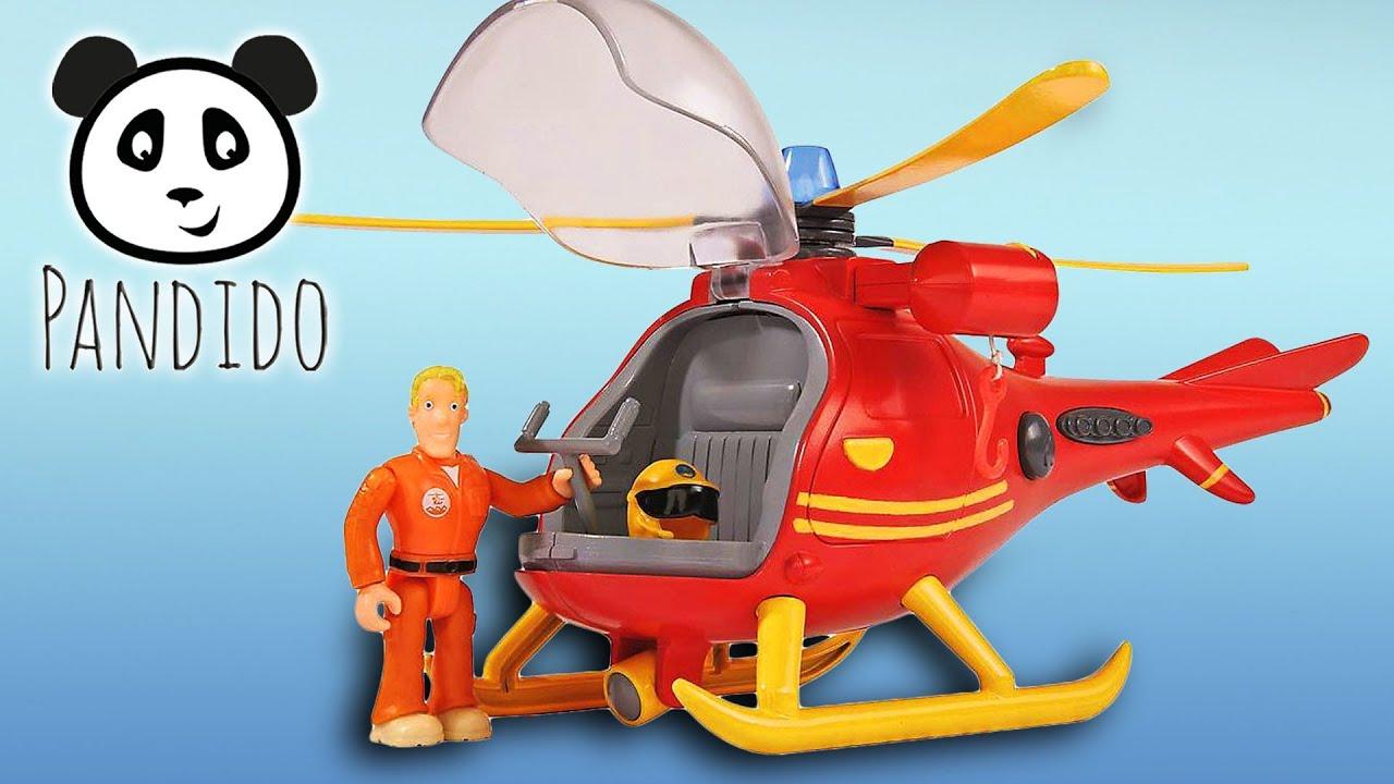 Ausmalbilder Feuerwehrmann Sam Hubschrauber - Vorlagen zum