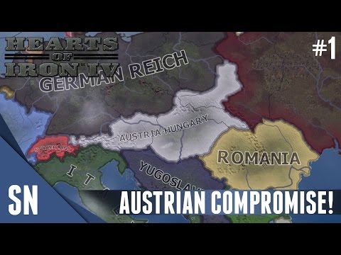 Greater Possibilities: Austria! - Hearts of Iron IV [MOD] - Part 1