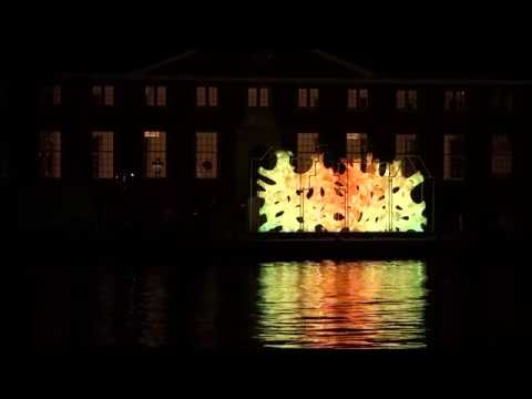 Satisfying Light Art - Amsterdam Light Festival 2016 - Outdoor Light Art in the canals of Amsterdam