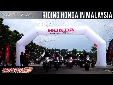 We ride many Honda bikes in Malaysia | Honda Asian Journey 2018 | MotorOctane