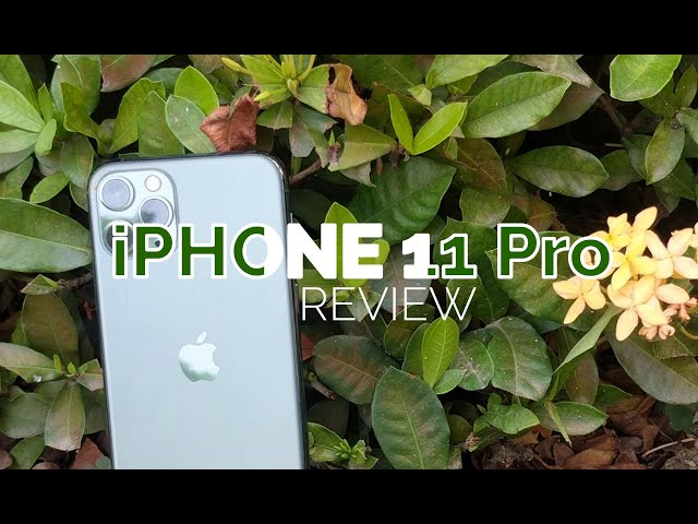 iPhone 11 Pro and the things I love about it