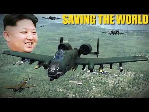 Reapers Attack North Korea!   Fw-190 A-10 F-5   DCS