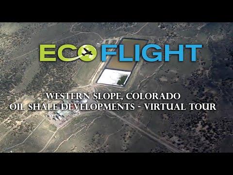EcoFlight Virtual Tour - Colorado Oil Shale Development