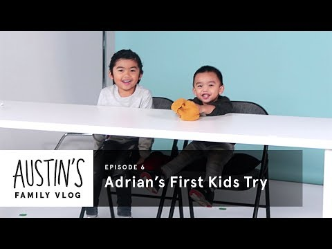 Adrian's First Kids Try | Austin Vlog