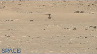 See Ingenuity's entire flight on Mars in Perseverance Mastcam-Z video